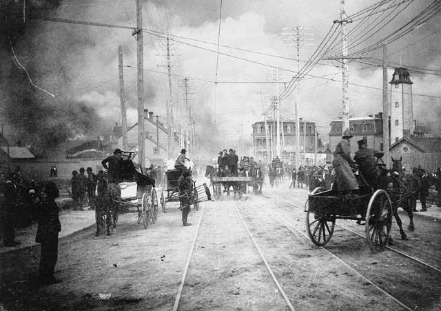 Hull Ottawa Fire of 1900