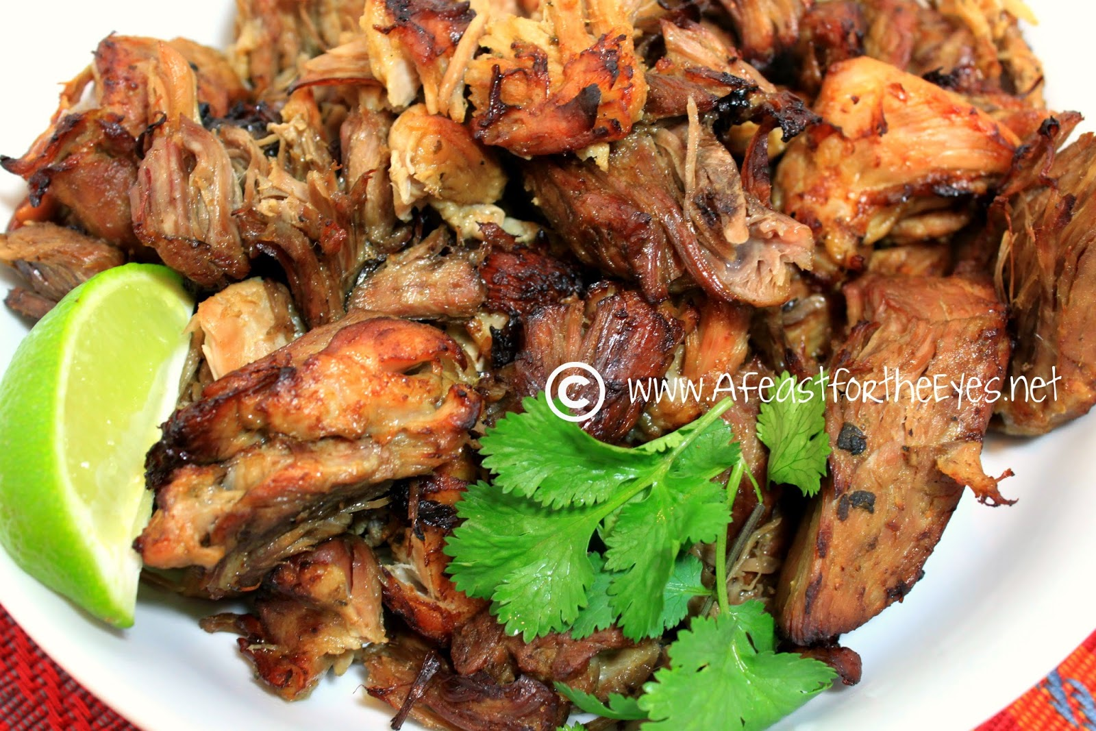 A Feast for the Eyes: Mexican Pork Carnitas/Pulled Pork ...