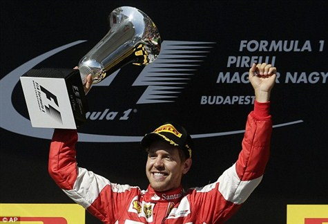 Sebastian Vettel : Phenomenal
