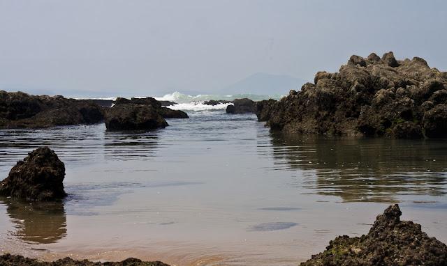Biarritz French Nude Beach Water