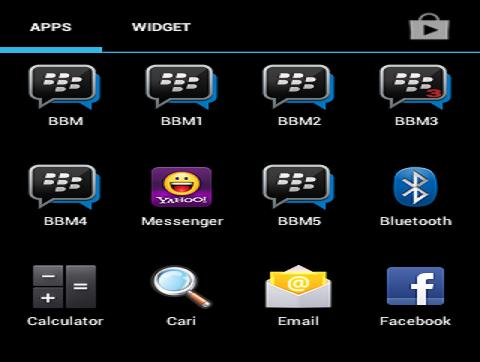 Cara Mudah Install Banyak BBM di Satu Handphone Android