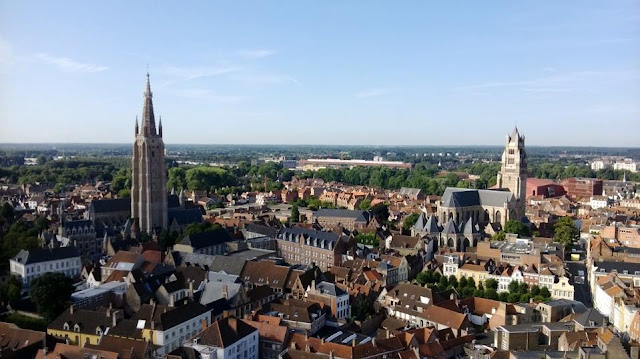 The view from the Belfry, Bruges