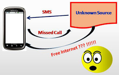 Give a missed call to get fee internet