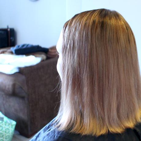 Mitä tapahtui hiuksille?