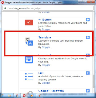 Membuat Widget Google Translate Di Blog