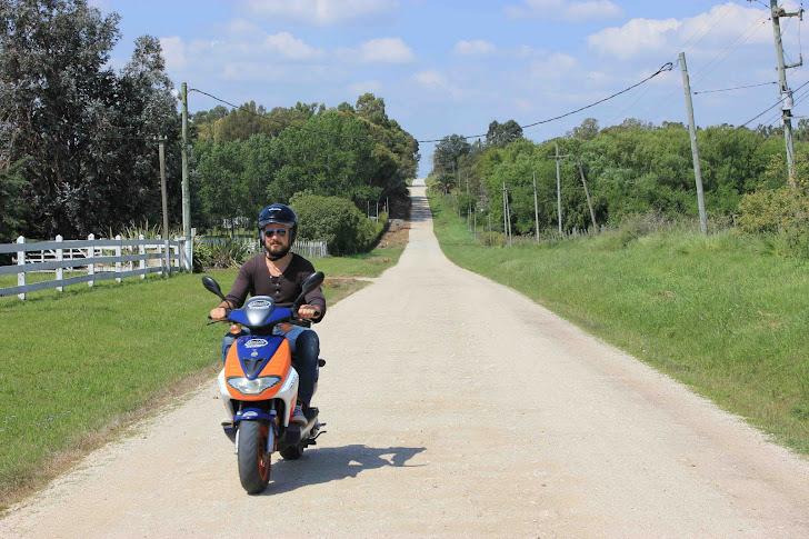 Scooter i Uruguay