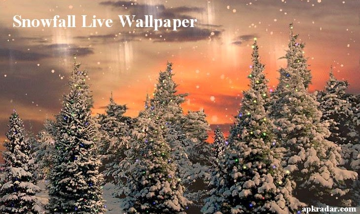 Snowfall Live Wallpaper Apk
