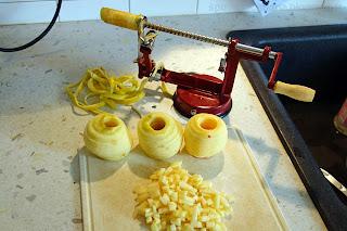 Яблочный кекс: приготовление
