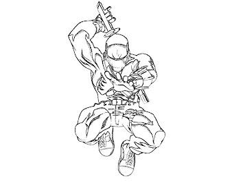 #6 G.I. Joe Coloring Page