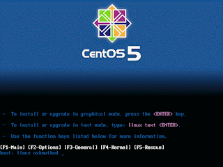 Remote installation of centos linux