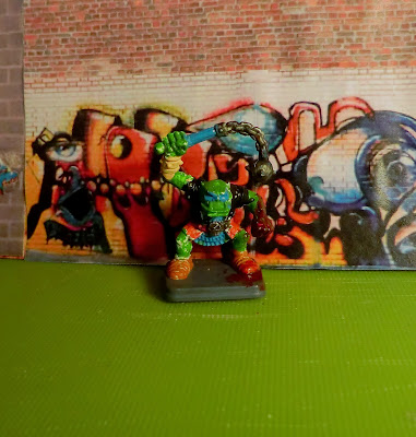 Orc, Heroquest, kid, paint