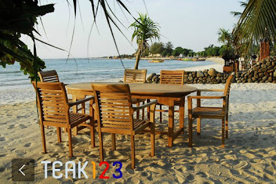 123 best teak garden furniture manufacturer wholesale in Indonesia