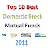 Top 10 Best US Domestic Stock Mutual Funds 2011