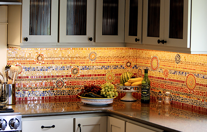 Spanish tile backsplash ideas