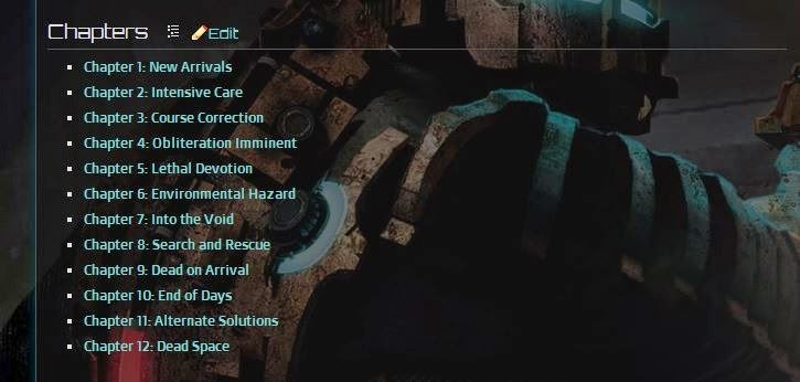 Gaming Easter Eggs Dead Space Nicole is dead