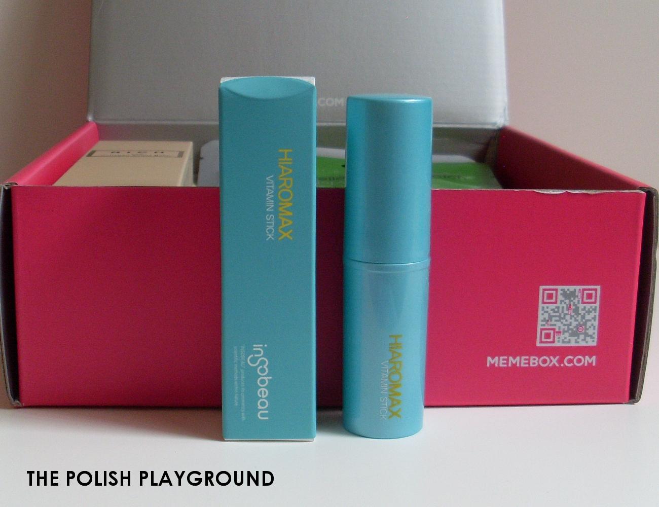 Memebox Special #35 Moisture Surge Unboxing - insobeau Hiaromax Vitamin Stick