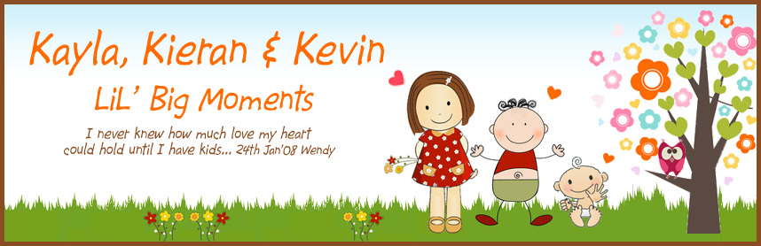 Kayla & Kieran's lil big moments