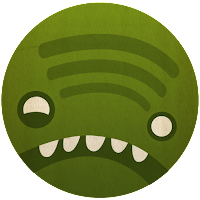 Spotify Monster Icon by Nadja Hallfahrt - http://blog.artcore-illustrations.de