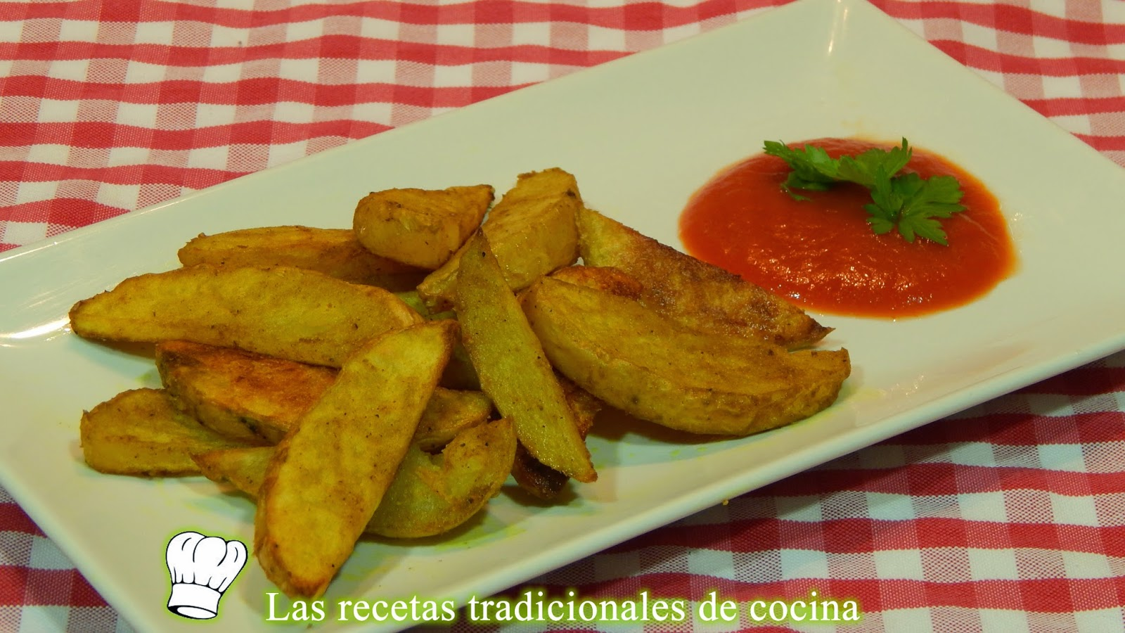 Patatas al horno adobadas con curry
