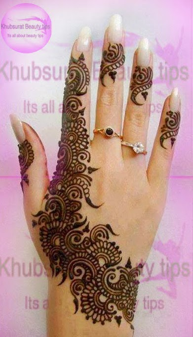Khubsurat Beauty Tips New Indian Mehndi K Design