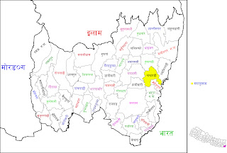 Map of Jhapa District