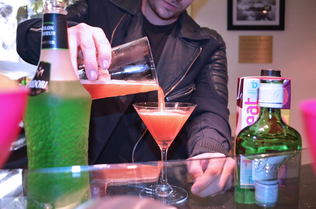 My Midori Halloween Cocktail