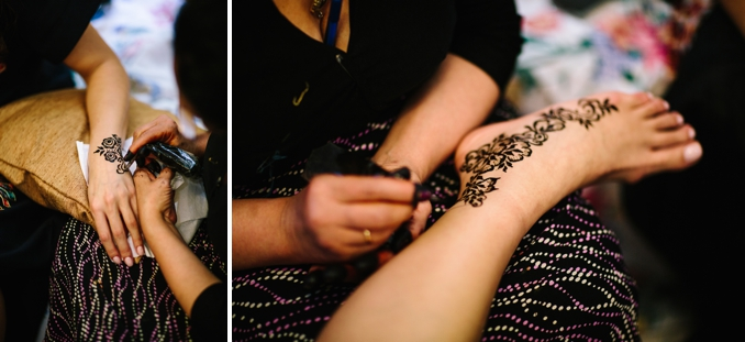 Matt and Gabby's pre-wedding henna ceremony photos by STUDIO 1208