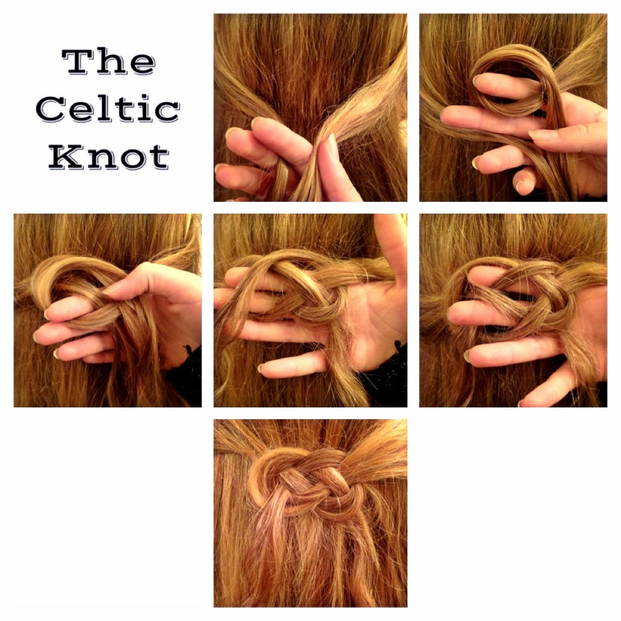 Hairstyles For Short Hair Knots : Hair styles by liberty celtic knot