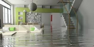 inundación en hogar
