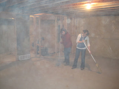 Days like this staining concrete basement part 1 for How to clean concrete dust from floors