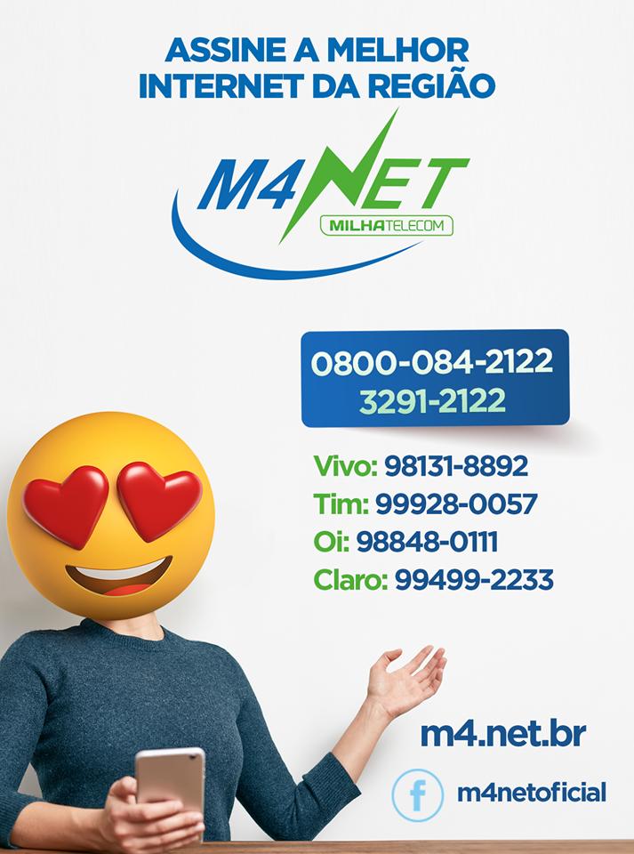 M4NET LEVANDO A MELHOR INTERNET ATE VOCÊ