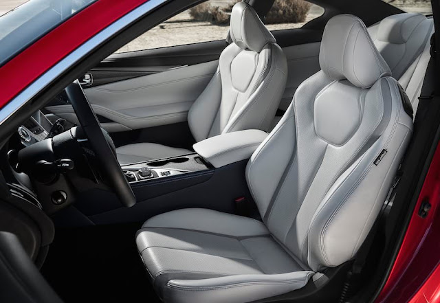 新型 日産スカイライン・クーペ Q60 シート