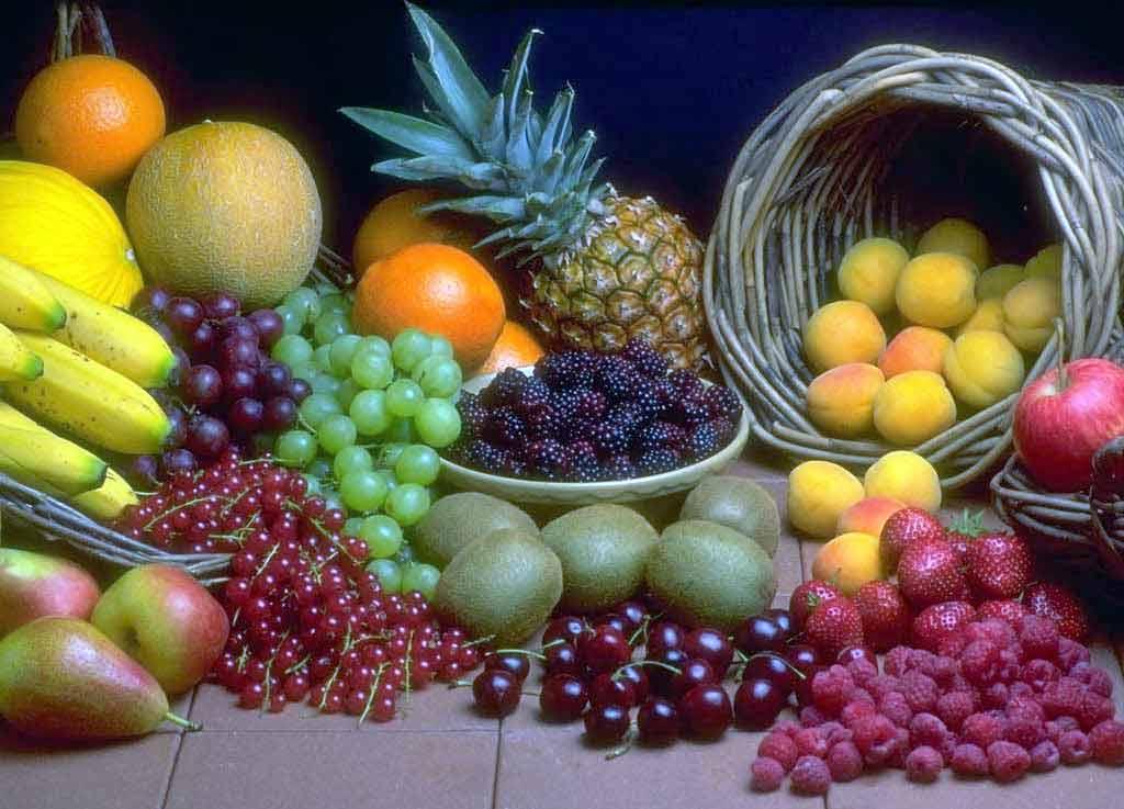 Resultado de imagen para frutas y comidas sanas