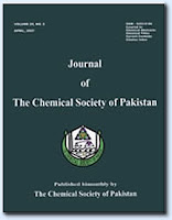 Journal of The Chemical Society of Pakistan