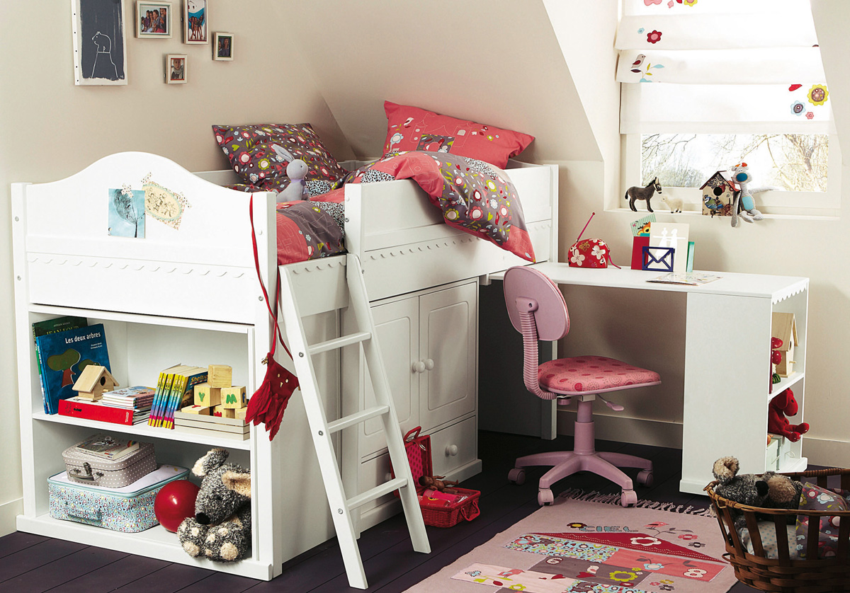 Outstanding Girls Bedroom with Loft Bed Ideas 1200 x 838 · 368 kB · jpeg
