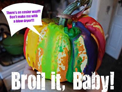 Pumpkin DIY Crayon Melt