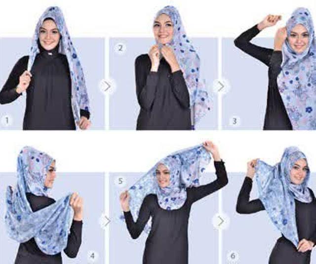 Tutorial Hijab Azalea Style Ala Zoya