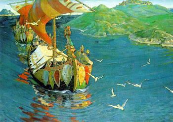 Roerich 'Guest from Overseas' (1901)