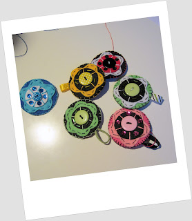 Broches Fieltro Flor - Taller Broches de Fieltro Valladolid