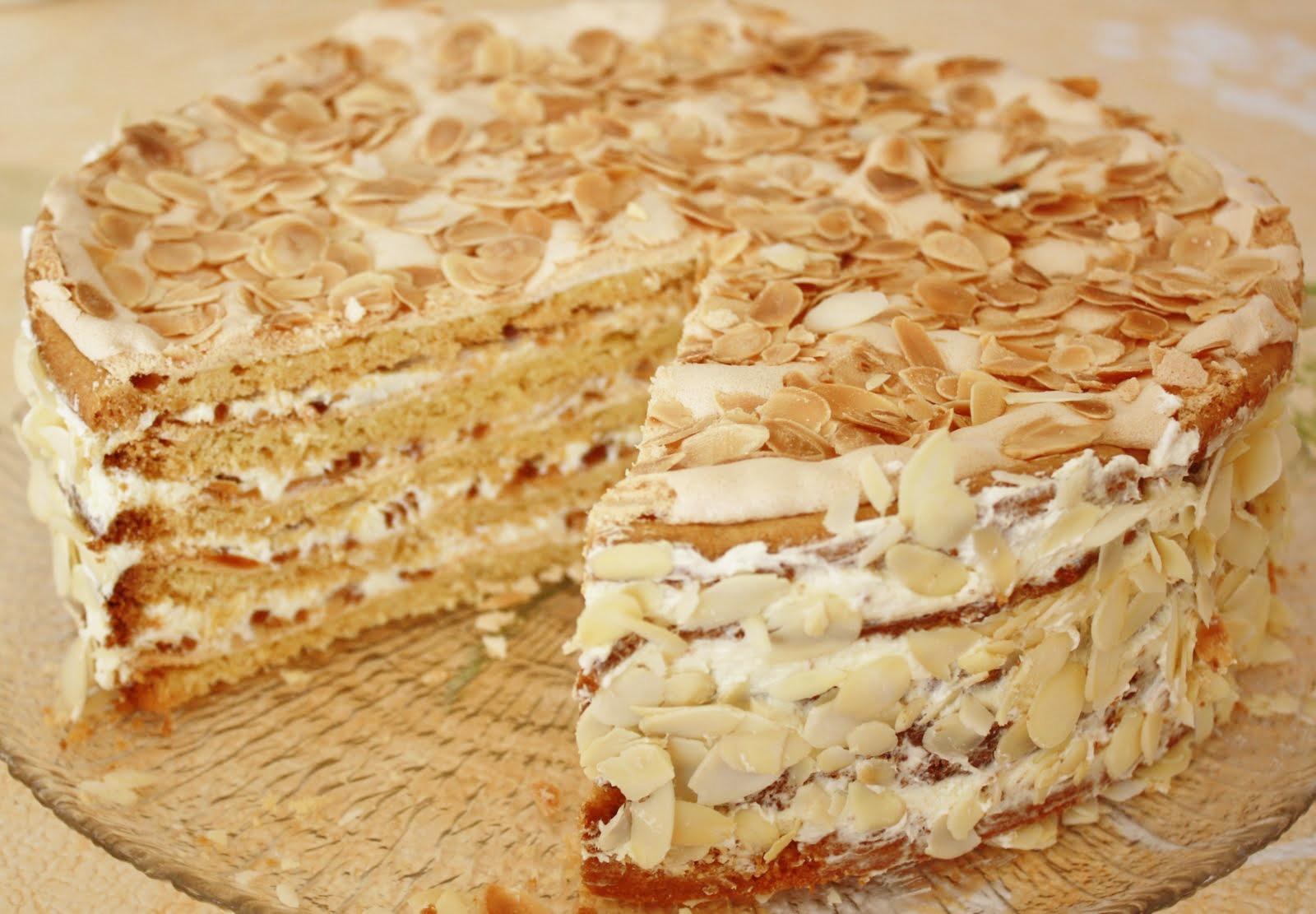 Рецепт киевского торта пошагово