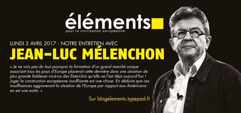 Entretien avec Jean-Luc Mélenchon