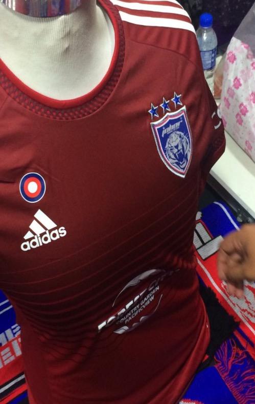 Gambar Baju Jersi Baru Johor JDT Musim 2016