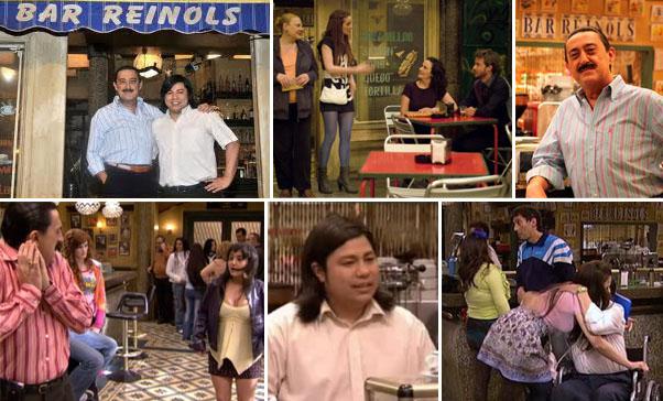 Bar de la serie Aída de Telecinco, Reinols