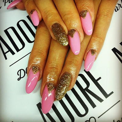 Acrylic Nails Stiletto - InspiriToo.