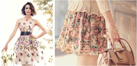 vestidos estilo romantico