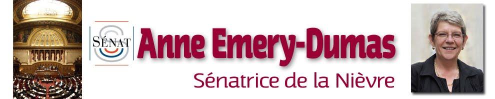 Anne EMERY-DUMAS, sénatrice de la Nièvre