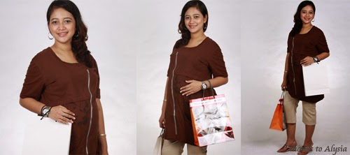 model baju hamil kerja modis