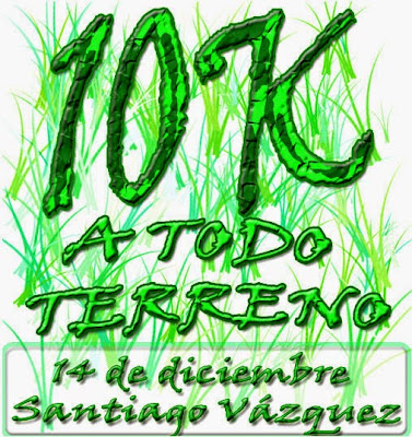 10k A todo terreno en Humedales de Santa Lucía (14/dic/2014)