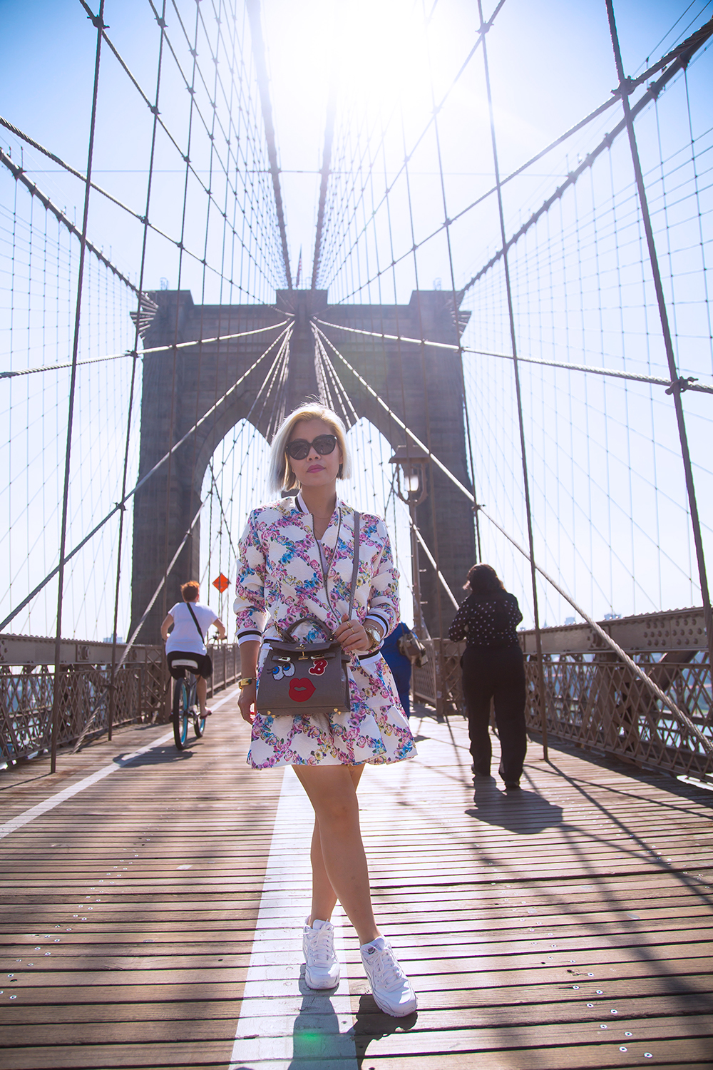 Singapore Fashion Blogger- Crystal Phuong- Brooklyn Bridge
