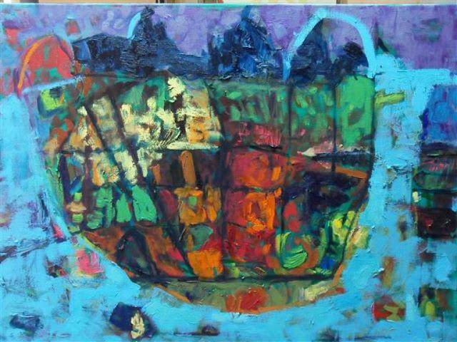 Izlozba slika Ljiljane Strize Trajkovic u Pancevu